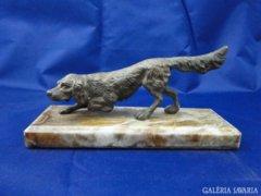 6085 Antik bronz kutya ír szetter