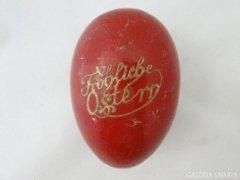 6114 Régi papírmasé húsvéti tojás