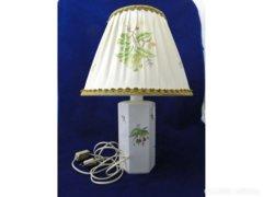 6169 Hecsedli mintás régi herendi asztali lámpa