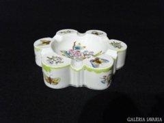 8444 Herendi viktória mintás porcelán hamutál