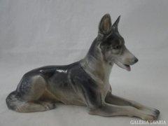 6184 Metzler - Ortloff porcelán németjuhász kutya