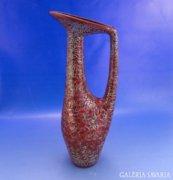 0A043 Zsolnay ökörvérzmázas váza Török formaterv