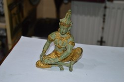 Indonéz réz shiva figura