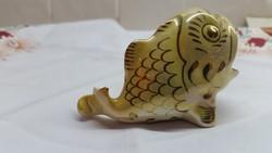 Porcelán dísztárgy eladó! Porcelán sárga hal eladó!