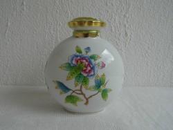 Herendi porcelán ritka illatszeres flakon Viktória VBO mintával hibátlan állapotban