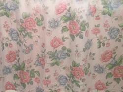 Gyönyörű tavaszi virágos vintage függöny pár ... 03a9b290fe