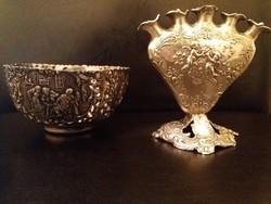 Barokk ezüst tárgyak