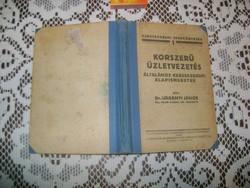 Dr. Urbányi János: Korszerű üzletvezetés - régi könyv