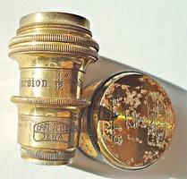 Carl Zeiss Jena régi mikroszkóp lencse