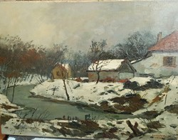 Halasi Horváth 1935 / Solymár télen
