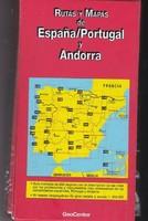 Spanyolország, Portugália, Andorra térkép sorozat útikönyvvel