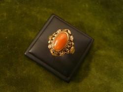 Korallos arany gyűrű