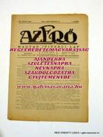 1923 szeptember 15  /  AZ ERŐ  /  RÉGI EREDETI MAGYAR ÚJSÁG Ssz.: 1418