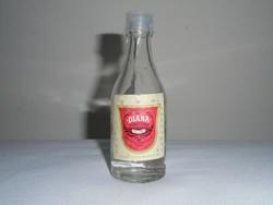 Retro DIANA sósborszesz üveg palack - BUSZESZ Budapesti Szeszipari Vállalat - 0.5 dl - 1987-es
