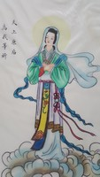 Gyönyörű kínai selyem kép