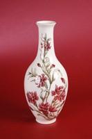 Zsolnay virágos váza (27 cm magas) - HIBÁTLAN