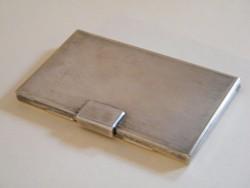 Ezüstözött névjegytartó tárca