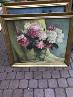 Török Gyula virág csendélet