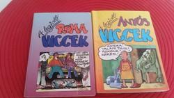 A legjobb ROMA, ANYÓS viccek könyv eladó