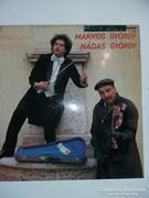 Markos-Nádas bakelit lemez