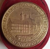 Székesfehérvár *1924 *Ciszt*R *Szent István -Főgimnázium Az Iskola Hős és Jeles Fiainak Emléke 1724