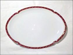 Imperial porcelán tálca , pecsenyés tál  41 x 29 cm.