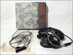 Videoton FH10 fejhallgató eredeti dobozában , garanciajeggyel