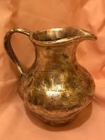 2,5 kg ezüstözött kancsó ,váza rendkívül masszív