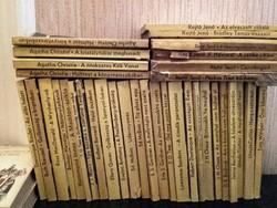 Antikvár könyv - 100.- ft/db  45 db Albatrosz krimi ( kb 1965- 1990)