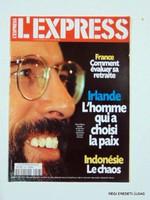 1998 május 27  /  L'EXPRESS  /  RÉGI EREDETI KÜLFÖLDI ÚJSÁG Szs.:  2181