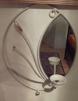 Ritka szep fali tükör   38 x 29 cm
