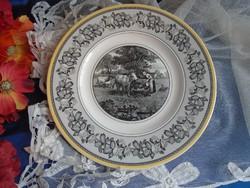 Villeroy & Boch tányér.