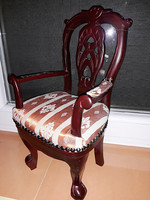 Bababútor,  babafotel,  szék fából