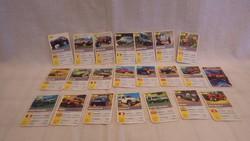 Offroad autós kártya játék