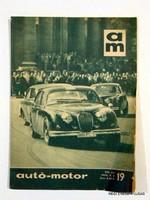 1963 október 6  /  AUTÓ - MOTOR  /  RÉGI EREDETI MAGYAR ÚJSÁG Szs.:  1678