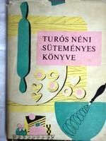 Turós néni süteményes könyve 1968.