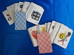 Retro játék kártya, szorzótábla 72 lapos