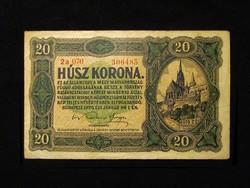 20 KORONA 1920 - IGAZI REMEK TARTÁS - ÜDE SZÍNEK
