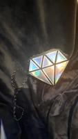 Gyémant női party táska modern egyedi darab