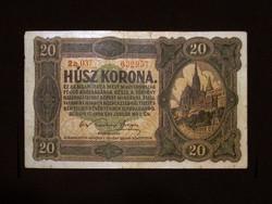GYÖNYÖRŰ 20 KORONÁS - APRÓ HIBÁVAL