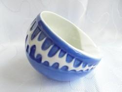 Zsolnay porcelán Török János féle hamutartó.Ritka különleges aszimetrikus forma