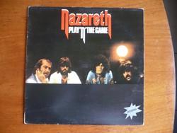 Nazareth-Playn the Game bakelit lemez