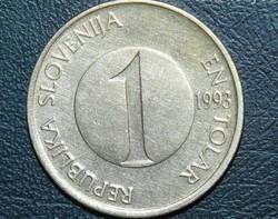 1 Tolar - Szlovénia - 1993.