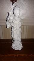 Herendi fehér szobor 34 cm