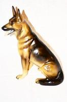 Nagy méretű Goebel német juhász kutyus