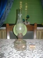 Régi petróleum lámpa - falra akasztható