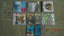 Retro CD lemezek és kazetták