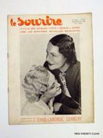 1934 november 15 LE SOURIRE (A MOSOLY) RÉGI EREDETI FRANCIA ÚJSÁG 3630