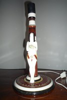 Art deco asztali lámpa Borszéky