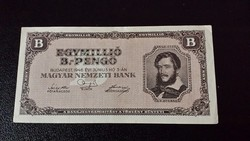 Egymillió B.-pengő 1946